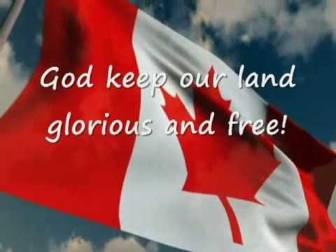 ▶ O Canada! National Anthem with Lyrics - YouTube