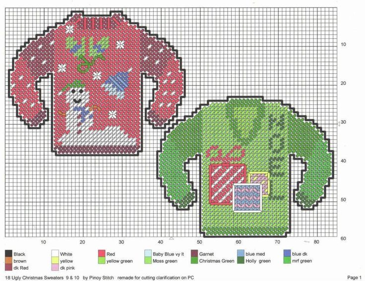Ugly Christmas Sweaters * 4/7