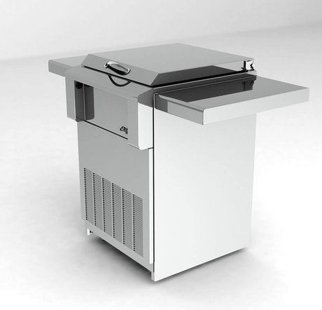 Alfresco Drop In Refrigerator With Cart