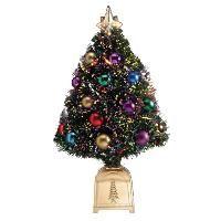 4 Ft White Fiber Optic Christmas Tree