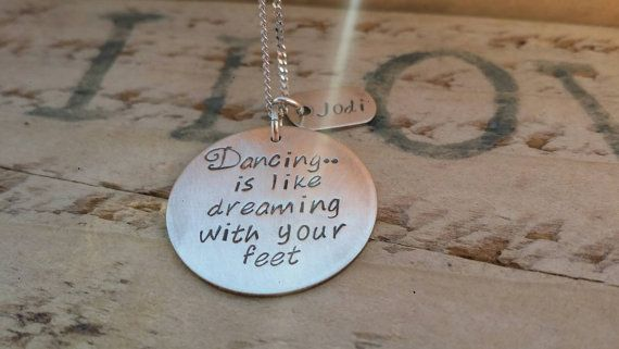 Check out this item in my Etsy shop https://www.etsy.com/ca/listing/279809806/dance-necklace-dancing-teacher-charm