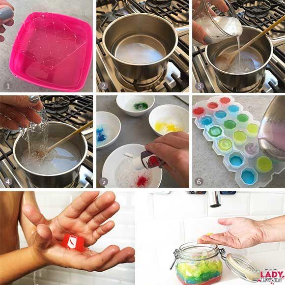 DIY: Douche jelly - Maakt van (haren) wassen een feestje! | Lady Lemonade
