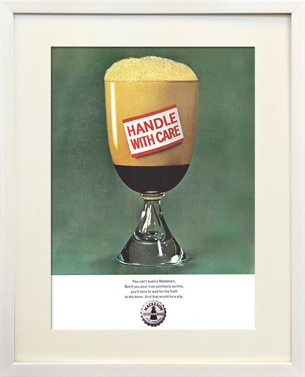 Mackeson Stout advert from 1963
