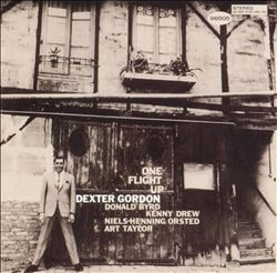 """Dexter Gordon's """"One Flight Up"""" album #NowPlaying #JazzAlbum Covers, 1199 Dexter, Album Nowplay, Dexter Gordon, Jazz Music, Covers Design, Blue Note, Jazz Covers, Covers Art"""