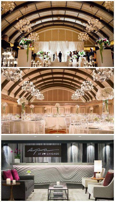 Chicago Wedding Venue: JW Marriott Hotel Chicago