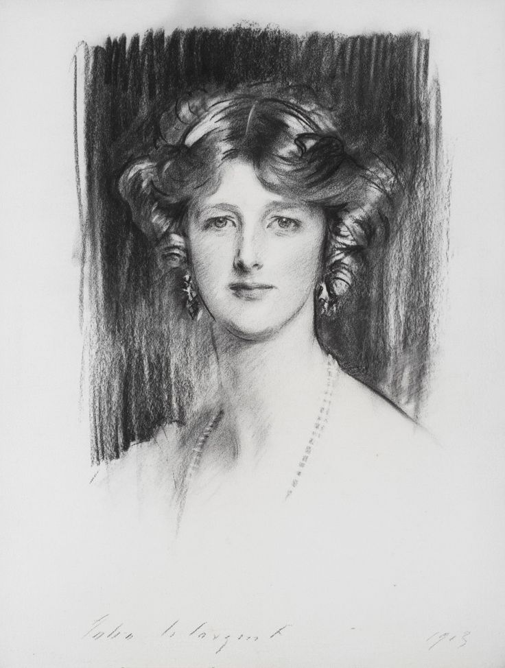 Edith, Marchioness of Londonderry, by John Singer Sargent, 1913