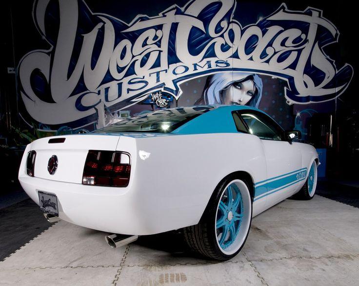 West Coast Customs Mustang Mustangs Pinterest West