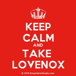 Medication: Lovenox Blood Thinner For Avascular Necrosis / AVN Treatment - it's just a bad day ... not a bad life!