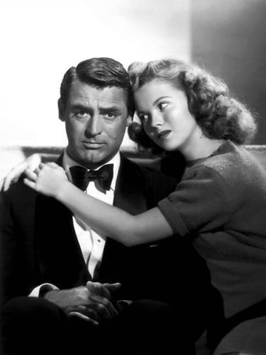 Shirley Temple , Cary Grant. This is from one of my favorite movies, The Bachelor and the Bobbysoxer.