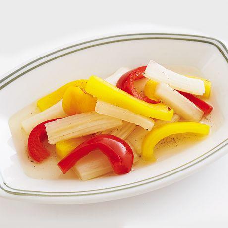 セロリとパプリカのピクルス   牧野直子さんのピクルスの料理レシピ   プロの簡単料理レシピはレタスクラブニュース