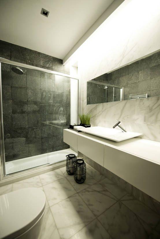 25 melhores ideias sobre casas de banho modernas no for Casa de arquitecto moderno