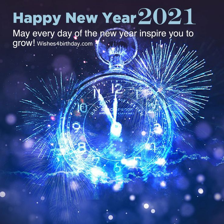 Download Happy new year 2021 image with countdown in 2020
