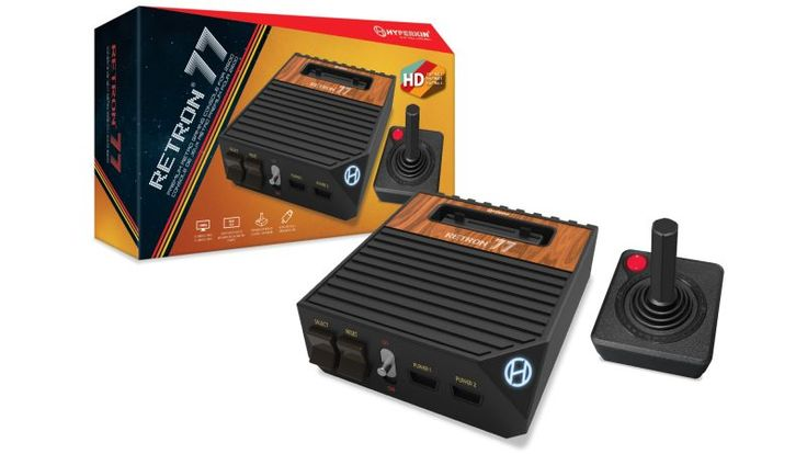 Hyperkin is giving the Atari 2600 new life with the Retron 77