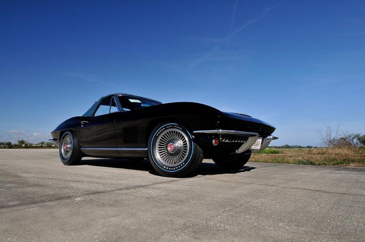 1967 Corvette 427 Of The 815 Tuxedo Black Corvettes