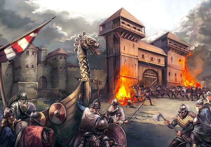 """The Siege of Paris,  885-886"", Mirco Paganessi"
