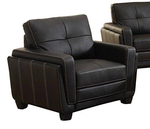 Rafi Black Sofa Chair | Living Room Furniture 3 | Chair, Furniture ...
