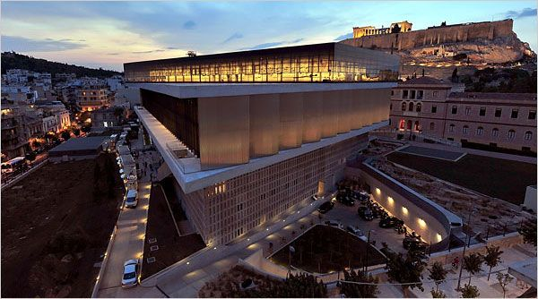 NEW  ACROPOLIS MUSEUM-HELLAS  In Athens, Museum Is an Olympian Feat - NYTimes.com