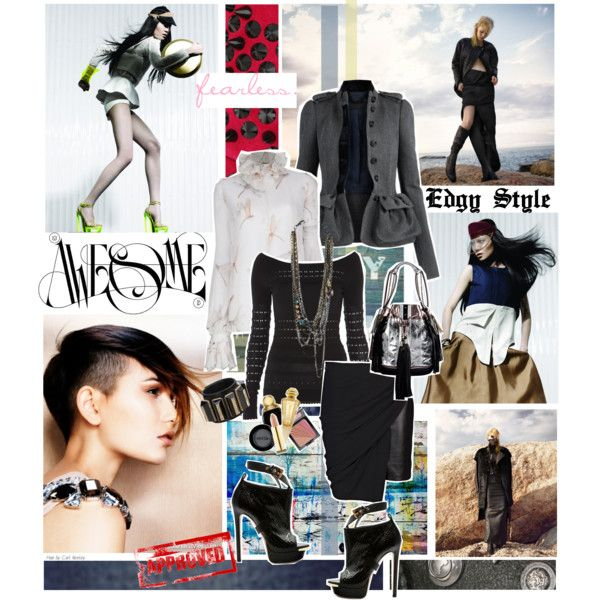 Edgy Style - Polyvore | Everyday Style | Pinterest