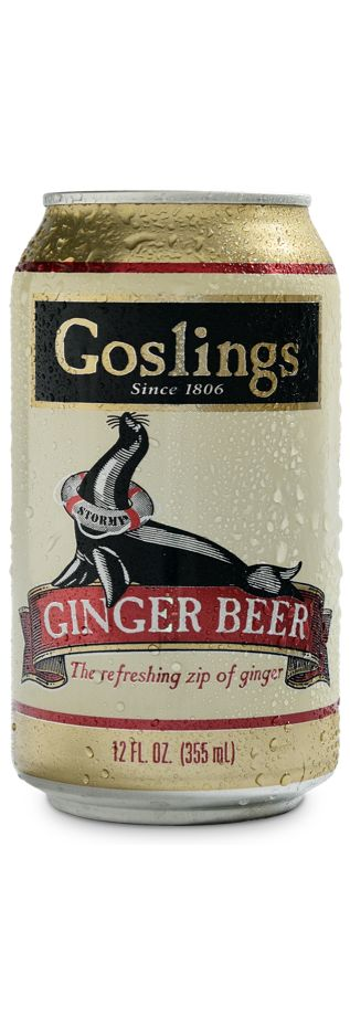 Gosling's perfectly balanced ginger beer; the only ginger beer created strictly to make Dark 'n Stormy cocktails.