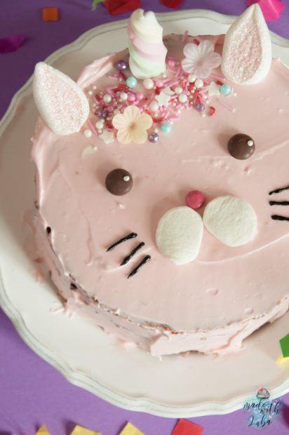 Caticorn Kuchen – Die magische Katze erobert alle Herzen