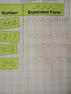 expanded form: Grade Math, Teaching Math Ideas, Classroom Journals Portfolio, Travel Teacher, Traveling Teacher, Places Values, 2Nd Grade, Math Journals, Teachingmath Ideas