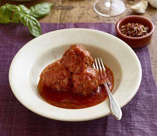 Recipe: Lidia Bastianich's Meatballs with Eggplant | Good Food | Bloglovin'