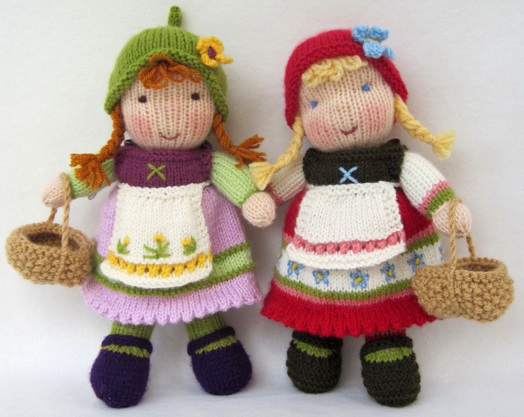 16 best images about POPPEN in stof en wol on Pinterest Knitted baby, Holly...