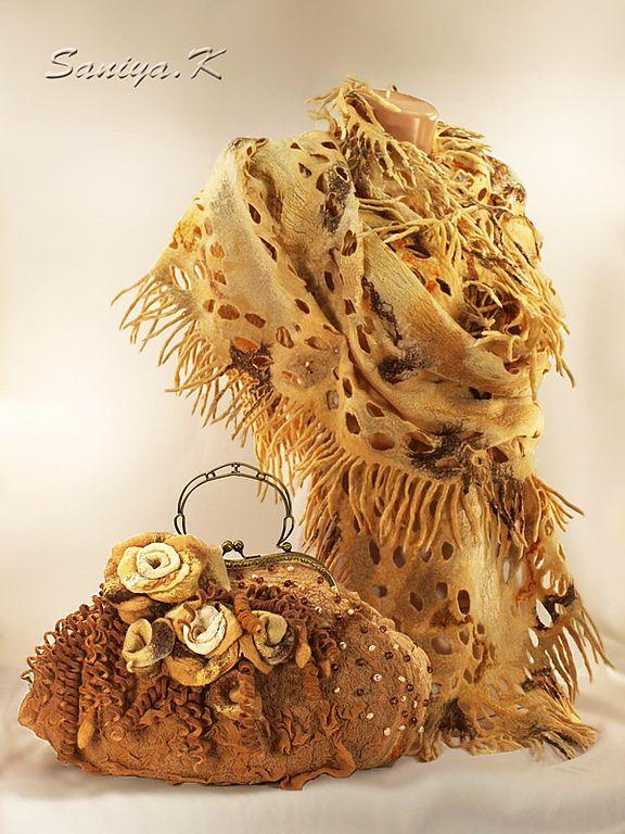 Палантины и сумки SaniyaK