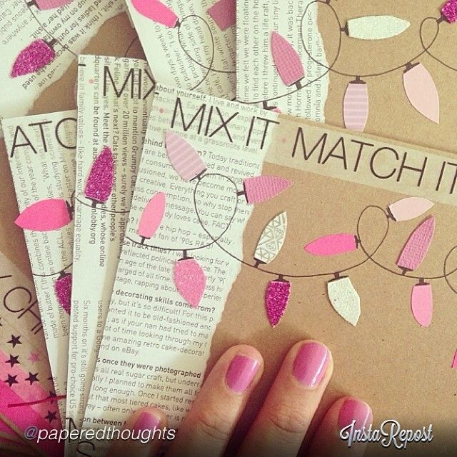 Cute washi tape snail mail