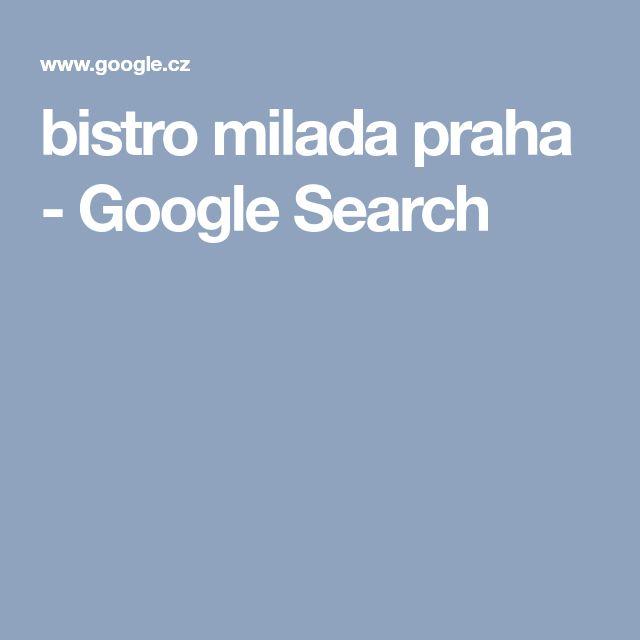 bistro milada praha - Google Search