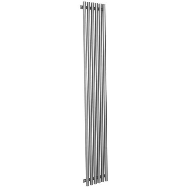 The Reina Orthia stainless steel designer radiator has a strong tubular design that is available in either a polished or satin finish. A Vertical Radiator that offers a stunning visual focus for a modern room setting.