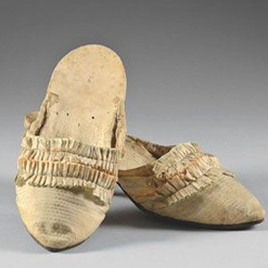 marie antoinette's slippers - sold at auction for $57,336