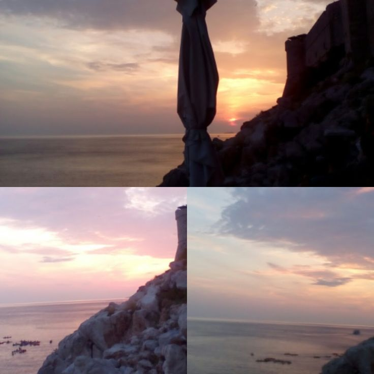 Закат в Буза Баре, Дубровник