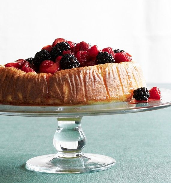 A Ricotta Cake You Oughta Make There's a reason all of Italy loves this summery dessert: Rich, airy and smothered in berries, it's also easy to prepare