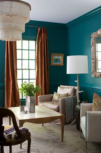 41 best Teal and copper room ideas images on Pinterest Colors - teal living room ideas