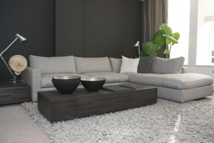 soft grey contemporary living space = Sfeerbeelden » Meijer & Floor