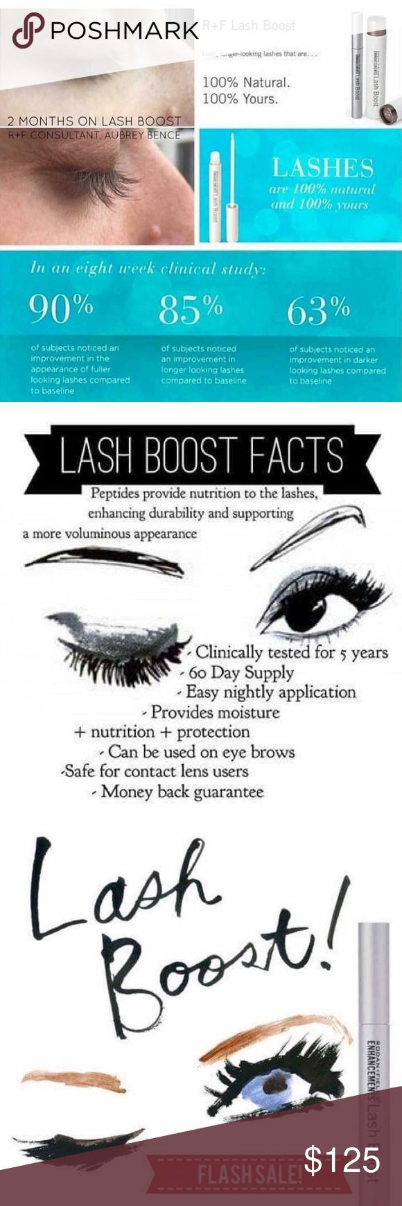 Rodan and Fields Lash Boost New, just in from Rodan and Fields, unopened.  Love this product, longer lashes that are fuller and darker.  Bottle will last atleast 60days.  Firm on price. Rodan and Fields Other