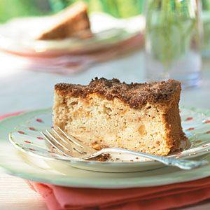 Cinnamon-Apple Cake | MyRecipes.com
