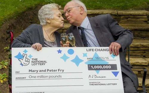 "Scotland's ""luckiest"" lottery family are celebrating again - after picking up a third £1 million prize thanks to a winning Lotto Millionaire Raffle line .  T"