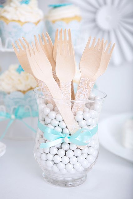 Lace and Pearls Bridal/Wedding Shower Party Ideas | Photo 25 of 45 | Catch My Party