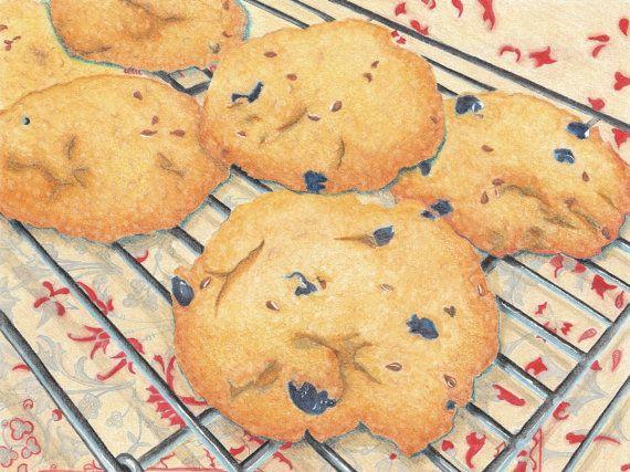 The Cooking Artists Breakfast Cookies Illustration