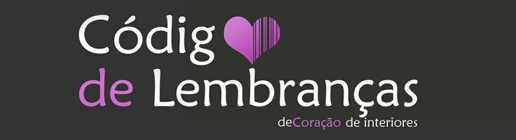 """Logo design for """"Código de Lembranças"""" an decor store"""