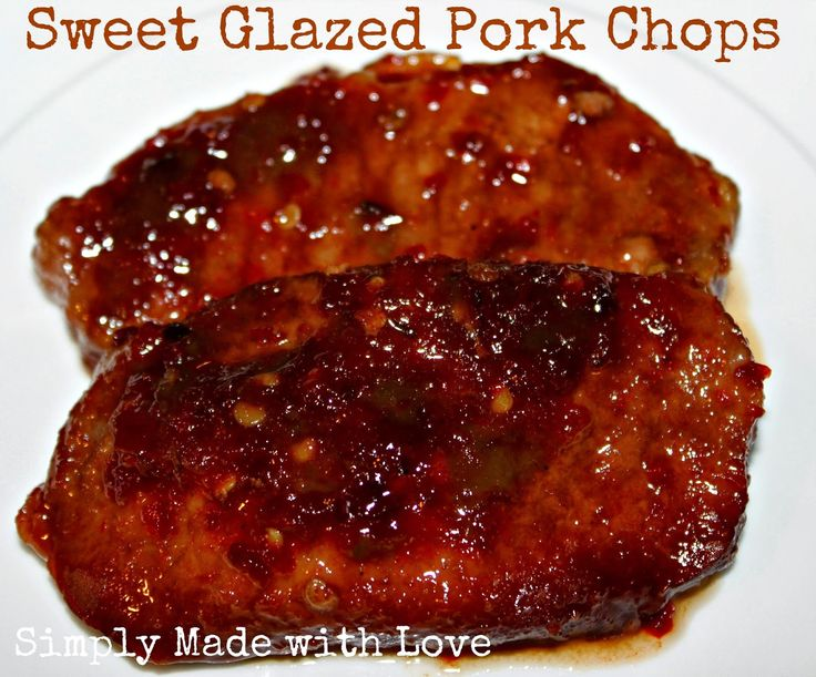 sauce pork chops with a sweet chili soy pork chops with teriyaki sauce ...
