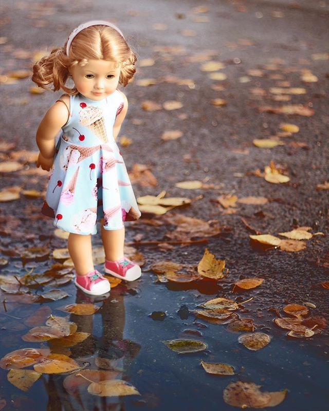 Maggie in @littlegloriana  by 5hensandacockatiel - American girl doll #21