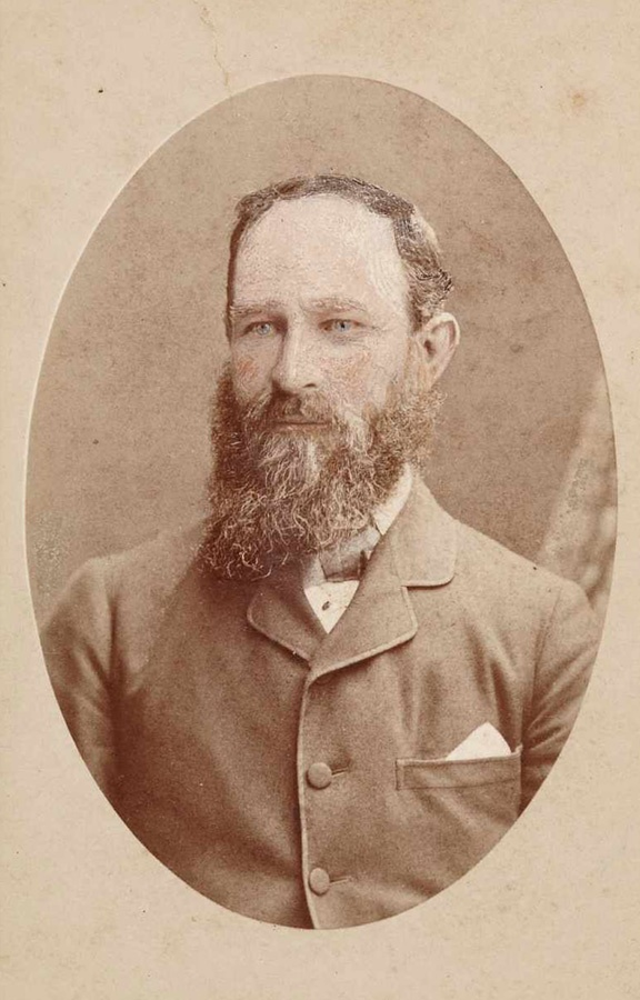 Kenneth McKenzie, around 1879, photographers Slade & King, Sydney, carte-de-visite albumen print. June Wallace papers, Caroline Simpson Library & Research Collection, Historic Houses Trust of NSW. [recno 39688]