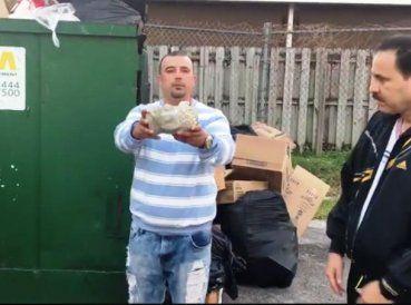 CiberCuba publicó un video que muestra cómo uno de estos babalaos llamado Joel Rodríguez, respondió a la invitación de entregar su vida a Cristo. Aunque...