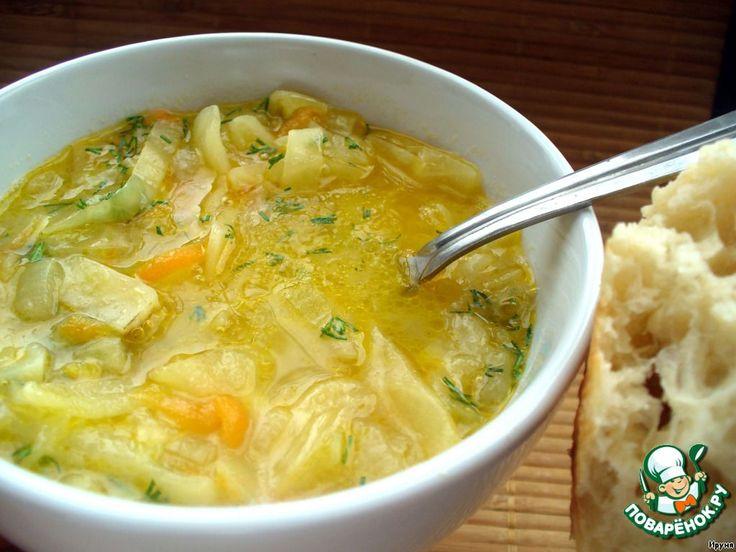 Луковый суп с капустой ингредиенты лук, морковь, капуста, с обжаренной мукой