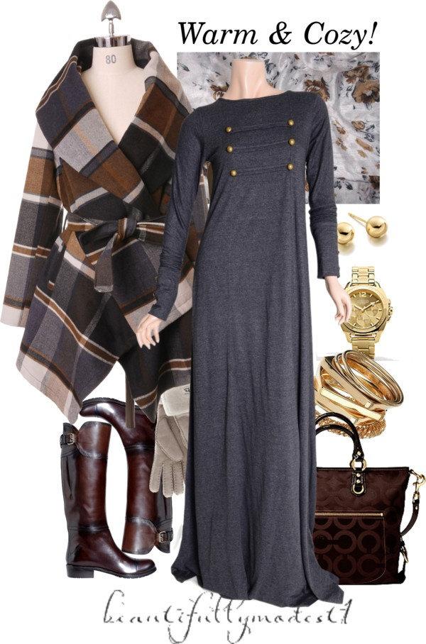 """""""Winter 2013"""" by beautifullymodest1 ❤ liked on Polyvore...wonderful website..."""