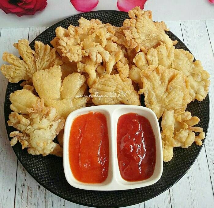 Resep Jamur Tiram Crispy Oleh Susan Mellyani Resep Resep Jamur Resep Masakan Sehat Jamur