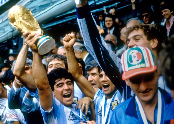 Argentina 1986 – Maradona #calcio#sport #storia #argentina